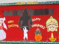 Board Decoration for Dussehra